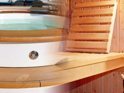 Hot tubs and saunas installed at your home