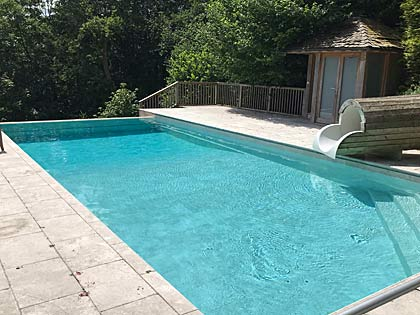 Swimming pool maintenance contracts